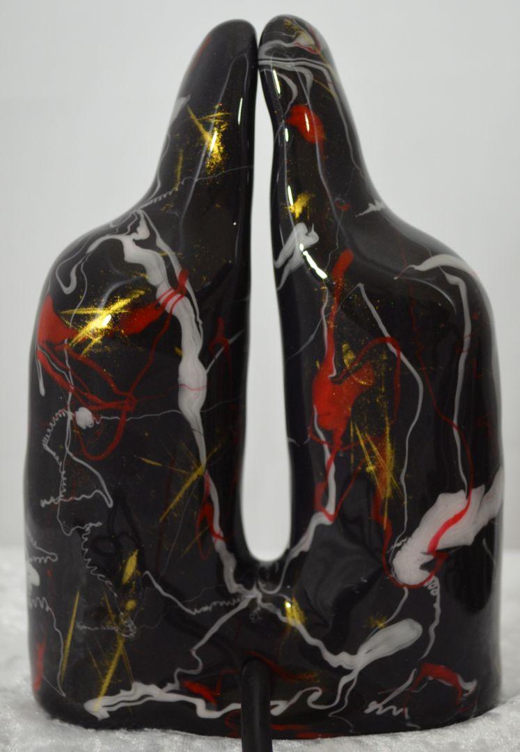 twincharger poppart rot und weiss auf schwarz